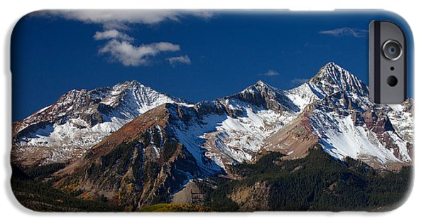 Photography Prints iPhone Cases - Sneffels Clearing  iPhone Case by Darren  White