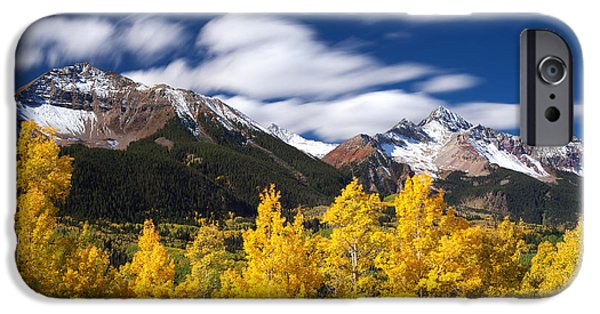 Scenic Print Photographs iPhone Cases - Sneffels Winds iPhone Case by Darren  White