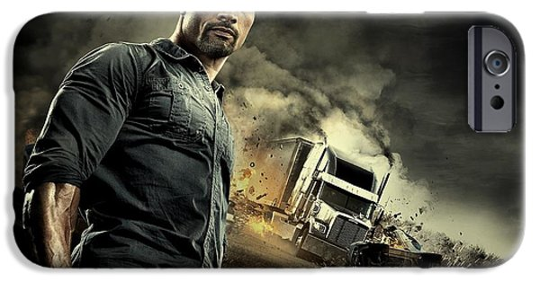 Business Digital iPhone Cases - Snitch Dwayne Johnson  iPhone Case by Movie Poster Prints