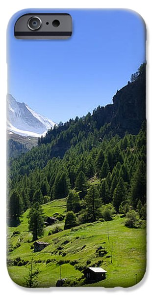 Snow-capped matterhorn iPhone Case by Mats Silvan