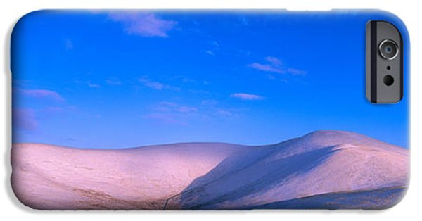 Snow Scene iPhone Cases - Snow Covered Hill, Trahenna Hill iPhone Case by Panoramic Images