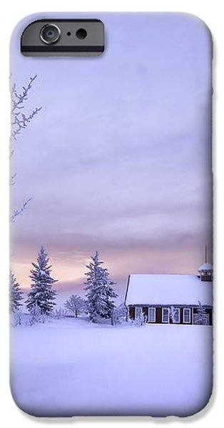 Snow Day iPhone Case by Kristal Kraft