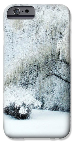 Snow Dream iPhone Case by Julie Palencia