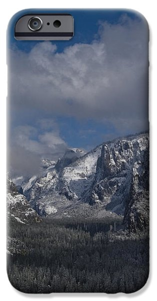 Snow Kissed Valley iPhone Case by Bill Gallagher