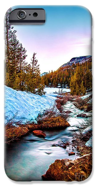 Adam iPhone Cases - Snow Paradise iPhone Case by Az Jackson