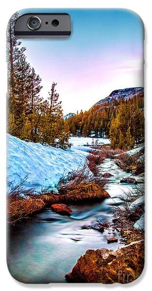 United Photographs iPhone Cases - Snow Paradise iPhone Case by Az Jackson