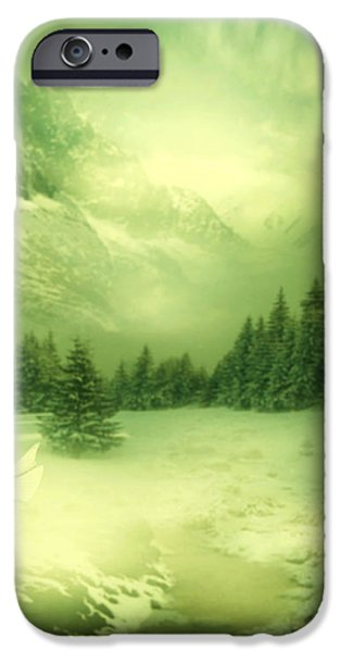 Snow Queen iPhone Case by Ester  Rogers