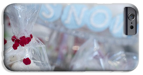 Snow iPhone Cases - Snow iPhone Case by Rebecca Cozart