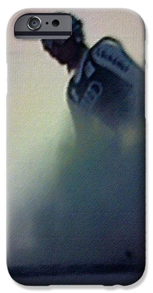 Snow Spray 6 iPhone Case by George Pedro
