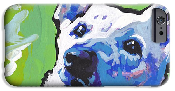 Alsatian iPhone Cases - Snow White iPhone Case by Lea
