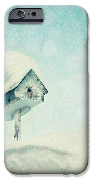 snowbird's home iPhone Case by Priska Wettstein