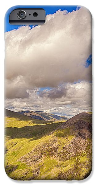 Snowdonia iPhone Case by Jane Rix