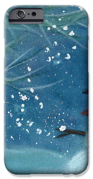 Snowman by jrr iPhone Case by First Star Art