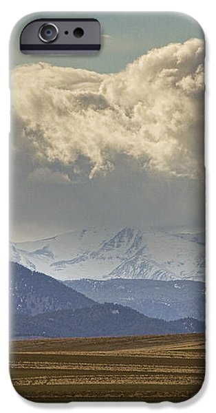 Snowy Rocky Mountains County View iPhone Case by James BO  Insogna