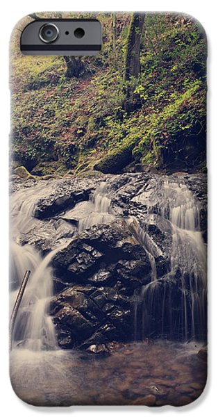Creek iPhone Cases - So Easy to Fall iPhone Case by Laurie Search