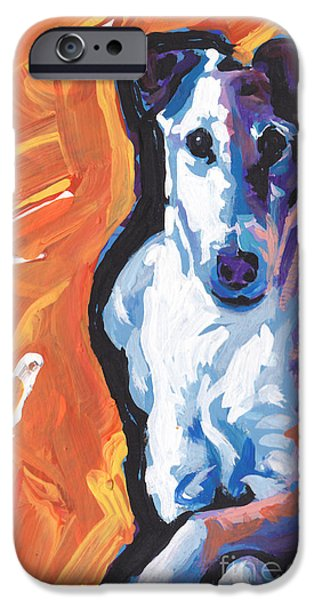 Fox Terrier iPhone Cases - So Smooth iPhone Case by Lea