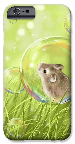 Little iPhone Cases - Soap bubble iPhone Case by Veronica Minozzi