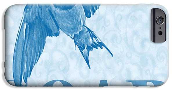 Barn Swallow iPhone Cases - Soar iPhone Case by Renee Forth-Fukumoto