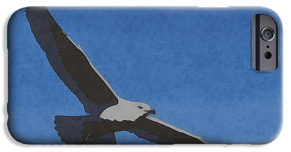 Sea Birds iPhone Cases - Soaring Gull iPhone Case by Ernie Echols