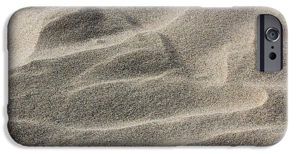 Wave Pattern iPhone Cases - Soft As Silk iPhone Case by Heidi Smith