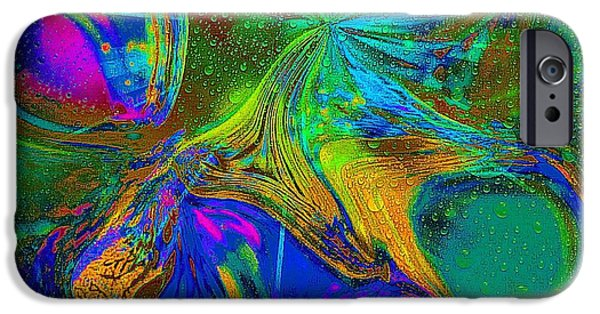 Etc. Digital Art iPhone Cases - Soft Colors iPhone Case by HollyWood Creation By linda zanini