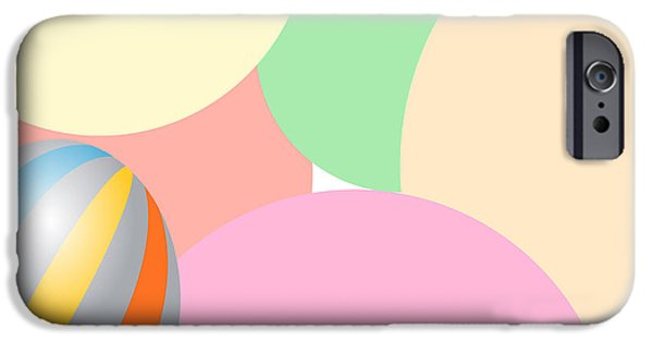 Multimedia iPhone Cases - Soft Curves iPhone Case by Tina M Wenger