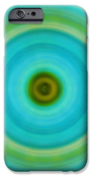 Soft Healing - Energy Art By Sharon Cummings iPhone Case by Sharon Cummings