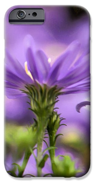 Soft lilac iPhone Case by Leif Sohlman