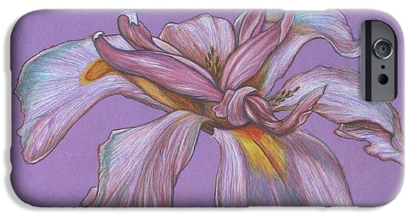 Best Sellers -  - Botanic Illustration iPhone Cases - Soft Petals iPhone Case by Paul Gioacchini