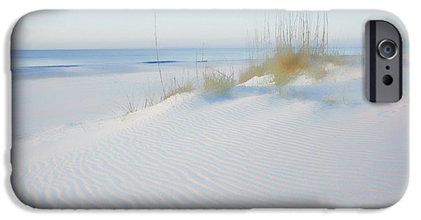 Micdesigns iPhone Cases - Soft Sandy Beach iPhone Case by Michael Thomas