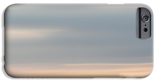 Contemplative iPhone Cases - Soft Sunset La Jolla iPhone Case by Carol Leigh