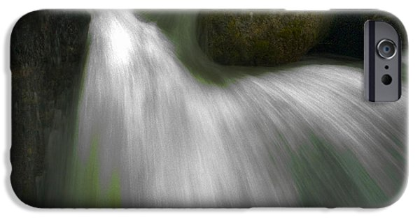 Recently Sold -  - Bill Gallagher iPhone Cases - Softwater of Cascade Creek iPhone Case by Bill Gallagher