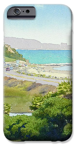 Solana Beach California iPhone Case by Mary Helmreich