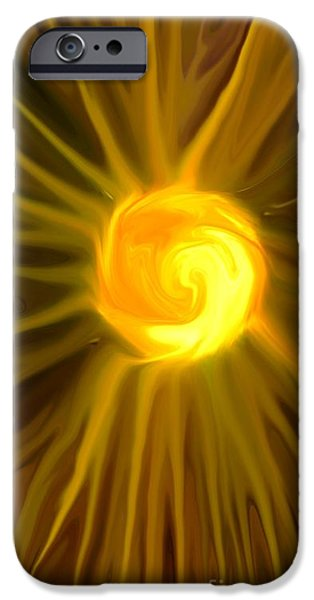 Electrical Equipment Digital Art iPhone Cases - Solar Energy iPhone Case by Chris Butler