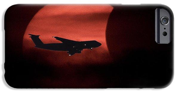 Jet Star Digital Art iPhone Cases - Solar Flight iPhone Case by John Bailey