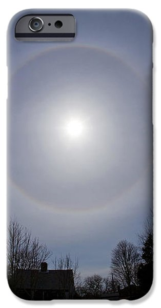 Solar Halo iPhone Case by Chris Cook