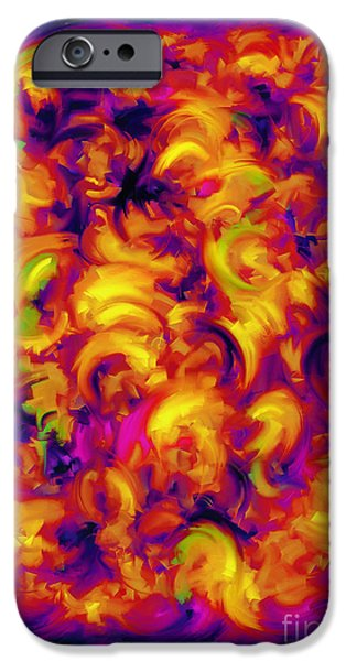Loose Style Digital iPhone Cases - Solar iPhone Case by Keith Mills