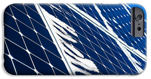 Electrical Equipment iPhone Cases - Solar Power 3 iPhone Case by Alexander Senin