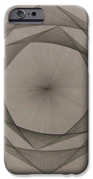Solar spiraling iPhone Case by Jason Padgett