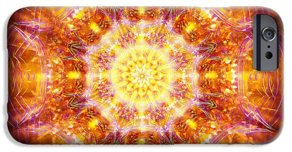 Tibetan Buddhism iPhone Cases - Solarene iPhone Case by Jalai Lama