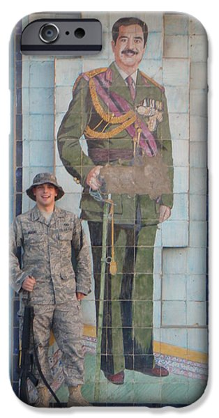 Baghdad iPhone Cases - Soldier to Sedam iPhone Case by Sharla Fossen