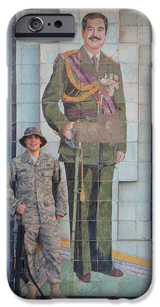 Soldier to Sedam iPhone Case by Sharla Fossen