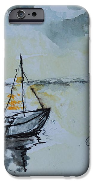 Solemn Wreck. Justin iPhone Case by Rosemary Colyer