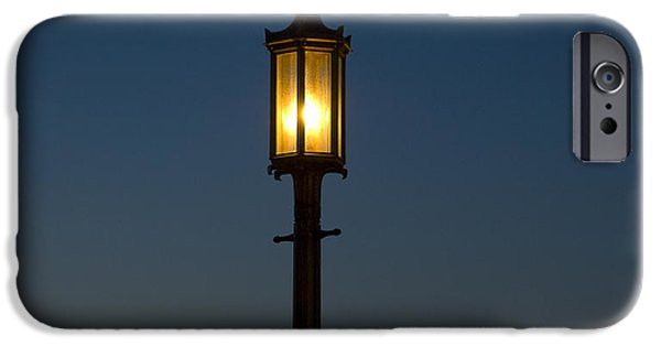Ww1 iPhone Cases - Solitary gas light iPhone Case by Tim Mulina
