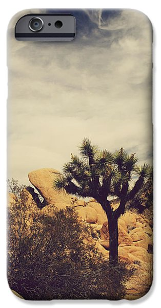 Laurie Search Photographs iPhone Cases - Solitary Man iPhone Case by Laurie Search