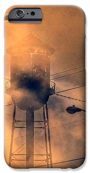 Industrial Pastels iPhone Cases - Solo2 iPhone Case by Lori Bourgault
