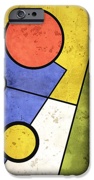 Geometric Artwork iPhone Cases - Solstice iPhone Case by Richard Rizzo