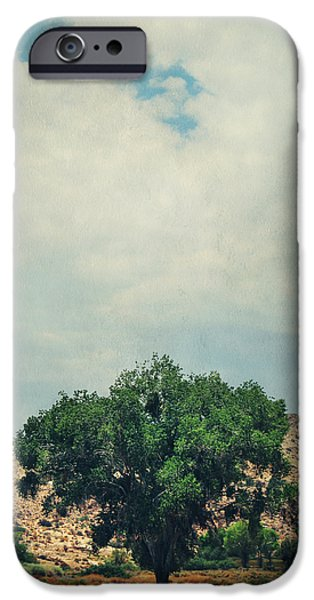 Textured Landscape iPhone Cases - Some Days I Believe iPhone Case by Laurie Search