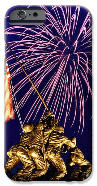 4th July iPhone Cases - Some Gave All iPhone Case by Scott Hansen