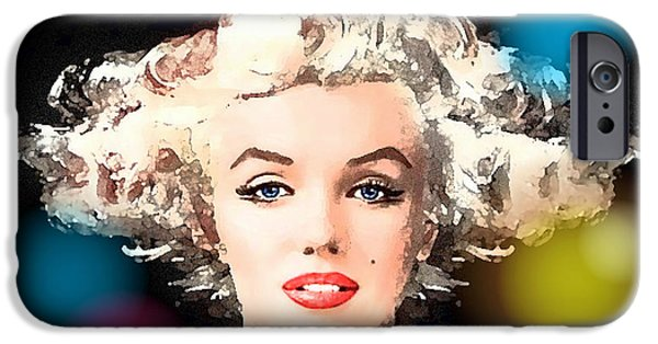 Stellar iPhone Cases - Marilyn - Some Like It Hot iPhone Case by Hartmut Jager
